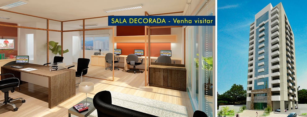 Sala decorada - Buena Vista Premium Office