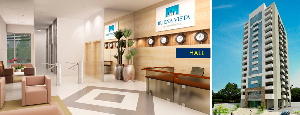 Hall - Buena Vista Premium Office