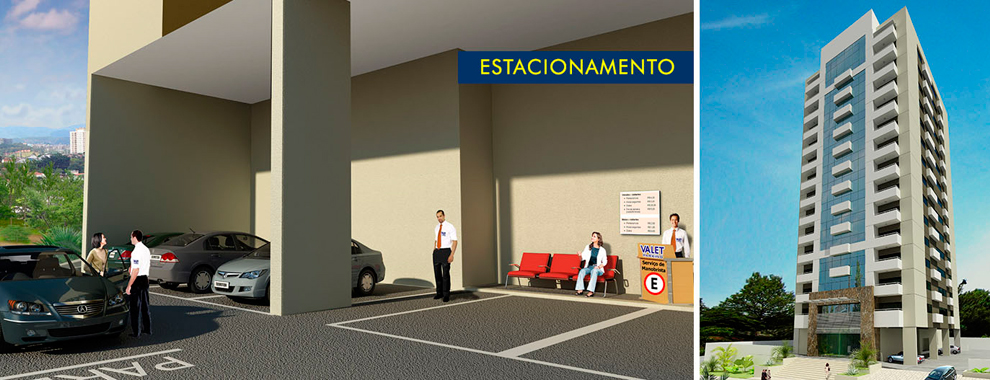 Estacionamento - Buena Vista Premium Office