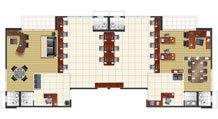 Juncao de 4 salas - Buena Vista Premium Office